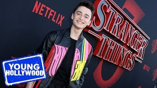 Stranger Things 3 Premiere with Noah Schnapp & Gaten Matarazzo
