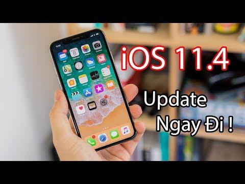 Đánh giá iOS 11.4: Nhẹ nhưng có