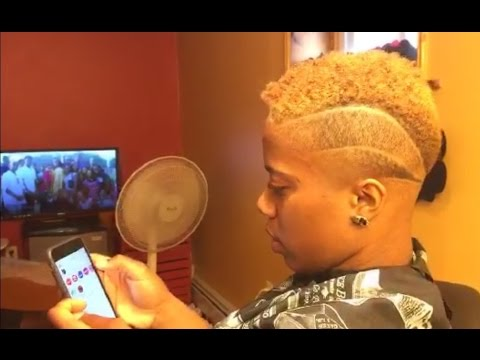 Girl's Haircut | Taper Fade | Bald Fade