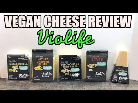 Tasting 5 Vegan Cheeses (How they Melt Stretch Taste) Violife