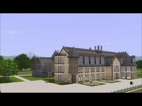 The Sims 3 Gothic manor