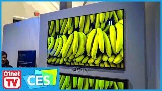 Les dessous du Qled, la nouvelle techno de Samsung pour ses téléviseurs - CES 2017