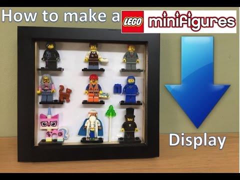 LEGO MOVIE MINI FIGURE Display. Make one for yourself..