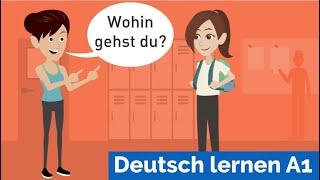Download Deutsch lernen mit Dialogen / Lektion 19 / sich vorstellen / Personalpronomen / Akkusativ Video