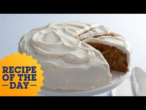 Recipe of the Day: Alton's Carrot Cake   Food Network