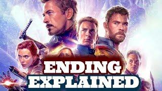 Avengers Endgame Ending Explained + Secret End Credit + Hidden Hero You Missed