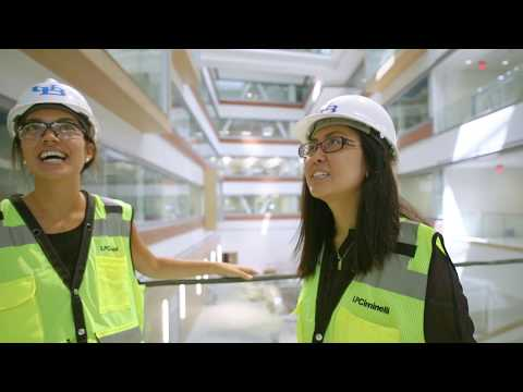 UB medical students check out their new building