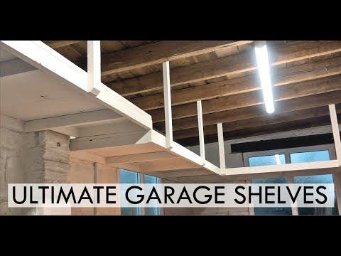 Ultimate Garage Shelves EASY DIY PROJECT