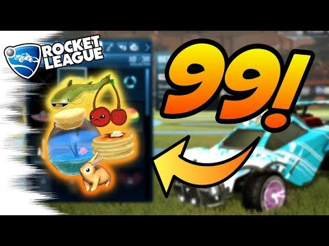 Rocket League Tips: ALL 99 NEW ITEMS Showcase! Toppers, Banners, Trade Ups (Autumn Update Trading)
