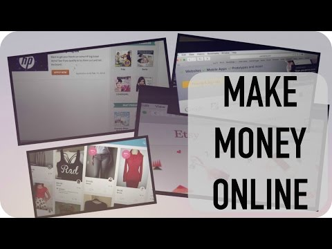 How to Make Money ONLINE + Get Free Stuff! | Loveli Channel 2015