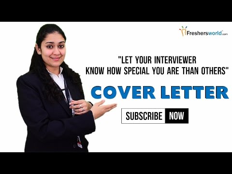 HOW TO WRITE A COVER LETTER FOR RESUME