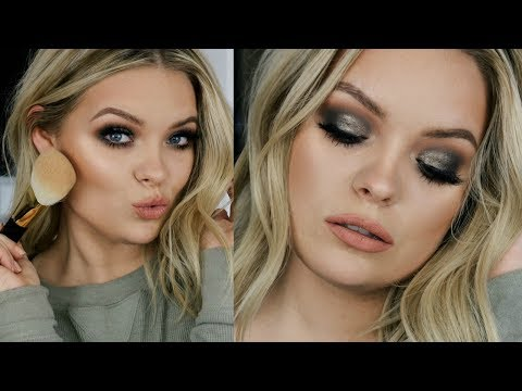 Winter Get Ready With Me - Holiday Makeup Look