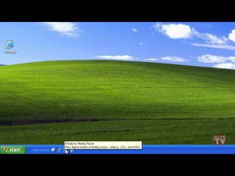 Customizing Toolbars in Windows XP