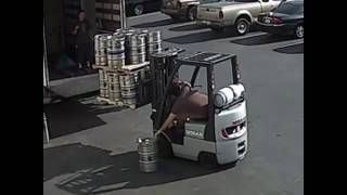 Beer Mover Catches Falling Beer Keg Save My Beer