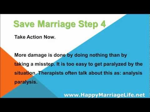 Save Marriage Step 4 - Take Action Now