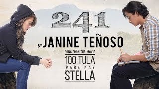 "Janine Teñoso — 241 | from the movie ""100 Tula Para Kay Stella [Official Lyric Video]"