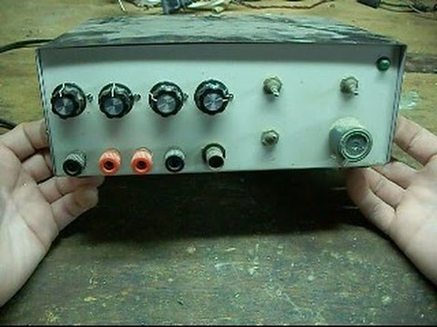 My old homemade function generator.