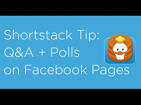 How to add polls and questions to Facebook Pages using Shortstack