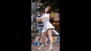 170811 R.G.P. (리얼걸프로젝트, Real Girls Project) - 꿈을 Dream (수지) 직캠 by 수원촌놈 [신촌 버스킹]