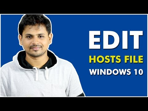 How To Edit Hosts File in Windows 10 Easily?