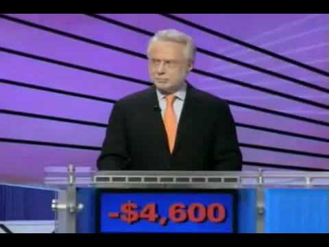 Worst Jeopardy Contestant Ever