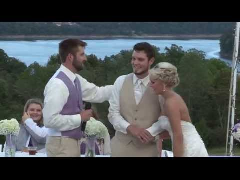 Big Brother gives Touching Best Man speech