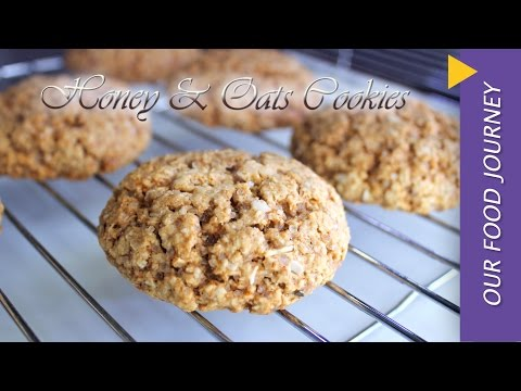 Honey n oats cookies recipe