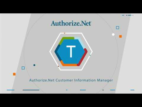 Authorize.Net Customer Information Manager