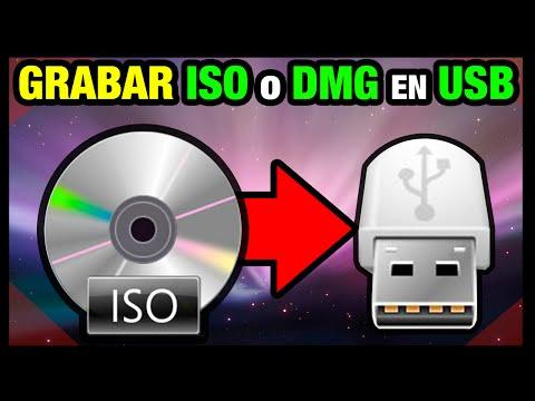 MAC OSX | Grabar imagen ISO o DMG en Pendrive USB