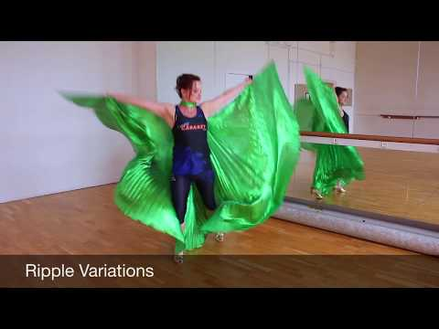 Egyptian/Isis wings for dramatic effect in Cabaret & Bellydance