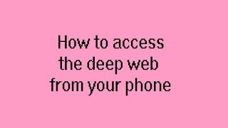 Deepweb explorer videos how to access the deep web fro ccuart Choice Image