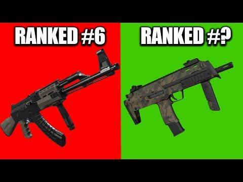 RANKING EVERY GUN IN H1Z1 FROM WORST TO BEST! (H1Z1 PS4)