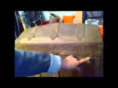 Steamer Trunk Restoration