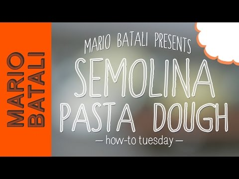 How to Make Semolina Pasta Dough