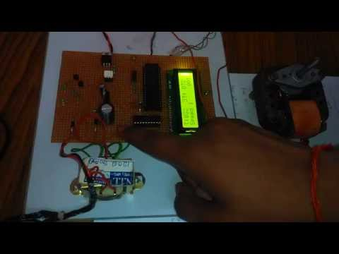 TEMPERATURE BASED SPEED CONTROL OF AC INDUCTION MOTOR