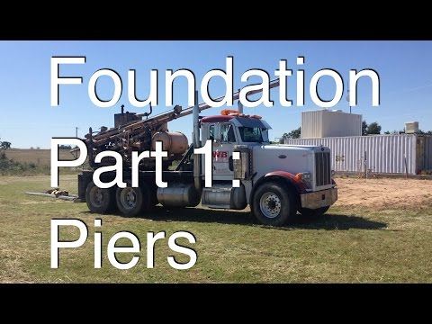 Foundation Part 1: Piers for Foundation