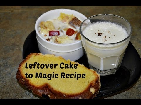 Best uses of Leftover Cake recipes video by Chawla's Kitchen
