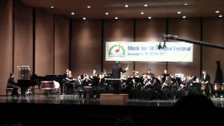 This is the third selection by the Roxbury HS Honors Wind Symphony in Indianapolis on March 17, 2012