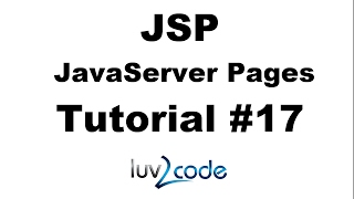 JSP Tutorial #17 - HTML Forms Overview