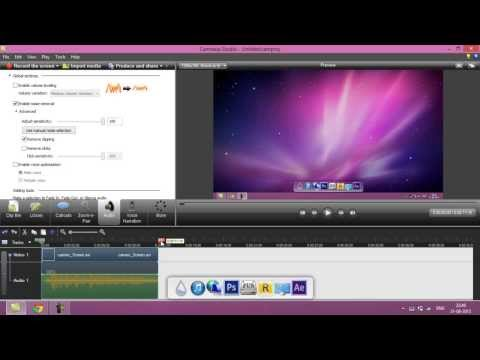 How To Enable Noise Cancellation In Camtasia Studio 7 / 8