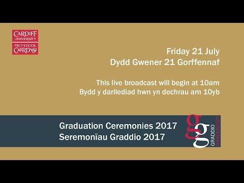 Cardiff University Graduation Ceremony 21 July 2017