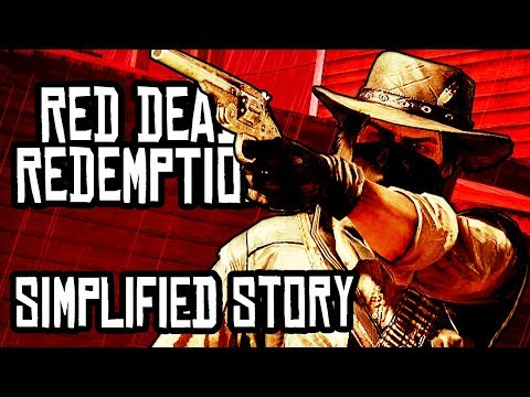 The Simplified Story of Red Dead Redemption