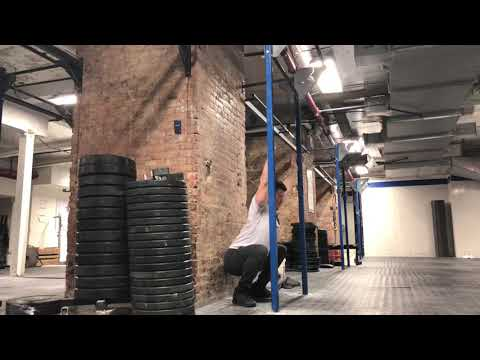 Improve Your Squat Technique with the Wall Squat (Facing Away)
