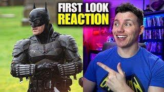 THE BATMAN 2021 Leaked Full Batsuit First Look