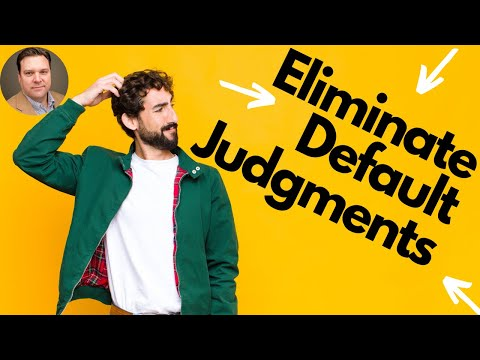 3 Strategies to Helping Consumers Eliminate Default Judgments