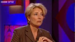 Emma Thompson Attacked By Fly - Friday Night with Jonathan Ross - S18 Ep10 - BBC One