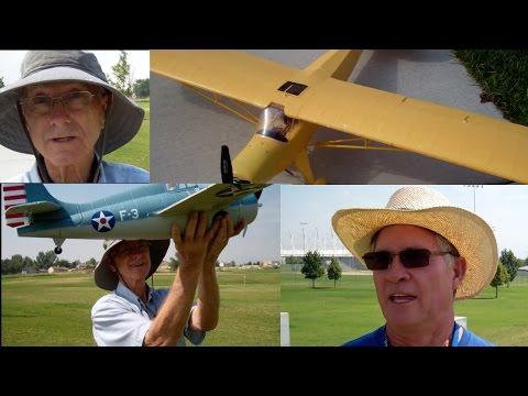 FlyZone SuperCub Maiden Flight