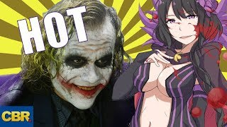 10 HOT Anime Villains The Joker Should Team Up With