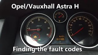 How to Read Fault Codes WITHOUT a Diagnostic Tool - Astra