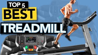 ✅ TOP 5 Best TREADMILL for home gym 2021 | Budget & Foldable